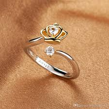 real crystal rings images New arrivals real pure 925 sterling silver rings for women girl jpg