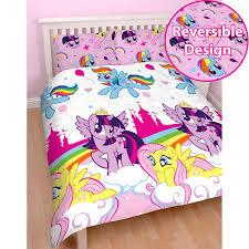 disney girls bedding my little pony single duvet cover sets girls bedroom bedding