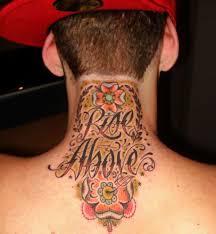 20 crazy neck tattoos