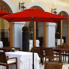 Square Patio Umbrellas 6 Foot Riviera Fiberglass Patio Umbrella