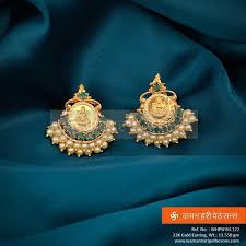 design of earing 50 best trendy earrings jhumkas images on gold
