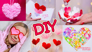Valentines Day Gifts by 5 Diy Valentine U0027s Day Gifts And Room Decor Ideas Youtube