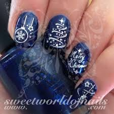 nail silver merry tree lights