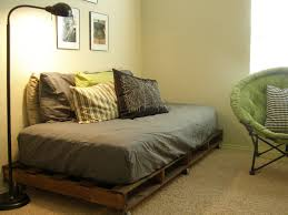 Bed Frame Made From Pallets Gray Benefit Yourself Along With Storage Diy Bed Frame Projects