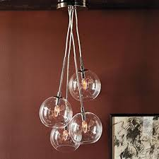 Glass Bubble Chandelier Lightinthebox 60w Artistic Modern Pendant With 4 Lights In Glass
