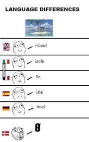 Language Differences Meme - danes