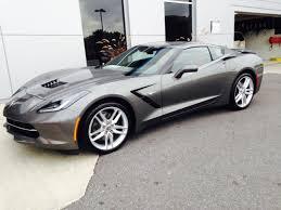 shark gray corvette 3 15 corvette deliveries must see shark gray with adrenaline