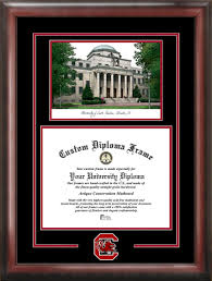 of south carolina diploma frame of south carolina the horseshoe lithograph diploma