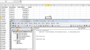 excel vba basics 11 create your own custom functions with or