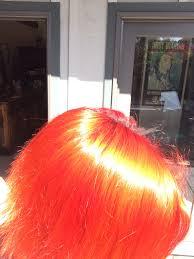 orange hair dyehard