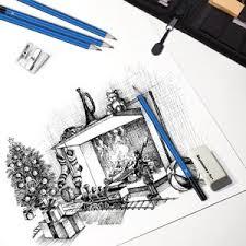 amazon com ghb 41 pcs sketching and drawing pencils set graphite