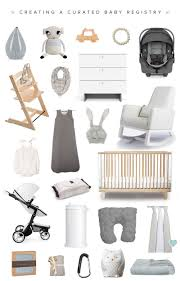 babies registry how to create a curated baby registry with milk honey babies