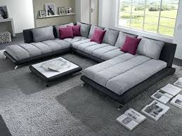canap grand canape d angle grand modele with canap design tissu gris t one co