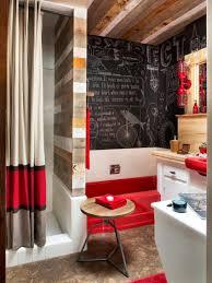 Victorian Bathroom Ideas Luxury Red Themes Victorian Bathroom Ideas With Square Wall Mirror