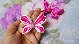 a beautiful ribbon butterfly diy guidecentral