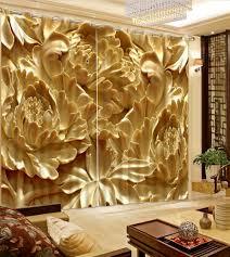 Gold Kitchen Curtains by Online Get Cheap Luxury Kitchen Curtains Aliexpress Com Alibaba