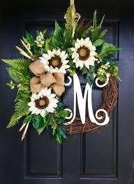 door wreaths front door wreaths summer door wreaths fall by fleursdelavie