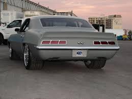 1969 camaro tail lights 69 camaro with a flush rear spoiler