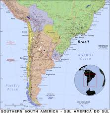 Map Of Brazil South America by Southern South America Public Domain Maps By Pat The Free Open