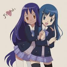 hikari and iris by kurumierika on deviantart