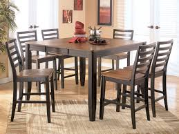 round glass dining room sets dining room black and white dining room set with leather