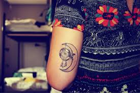 moon and dreamcatcher tattoos pinterest indie tattoo tattoo