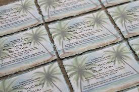 Beach Wedding Invitation Cards Wedding Invitation News From Lenila