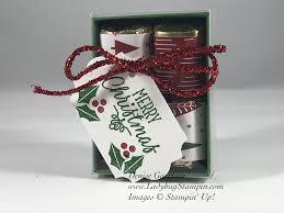 ladybug stampin 4 hershey nugget giftbox
