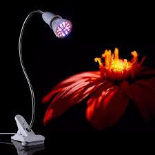 le de bureau pince 28 w 28led élèvent la lumière hydroponique plante d intérieur bureau