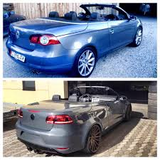 volkswagen eos with scirocco front and r36 engine coming to