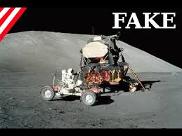 moon hoax so you can see from space even against earth and