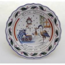 birth plates coloured birth plates and tiles delftpottery de delftse pauw webshop