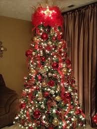 Decorate Christmas Tree Red by 128 Best Red And Gold Christmas Images On Pinterest Christmas