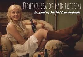 hairstyles from nashville series fishtail braid hair tutorial inspired by nashville