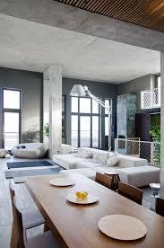 loft apartment in kiev by 2b group