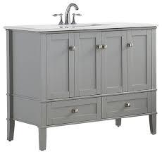 gray bathroom vanities houzz
