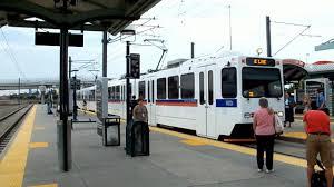 denver light rail hours denver light rail rush hour youtube