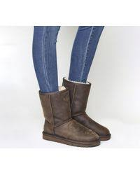 ugg rella sale ugg rella boots in brown lyst