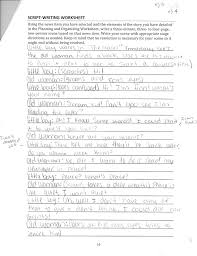 write and direct a scene based on a news article maeia