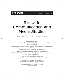 introduction to communication and media studies