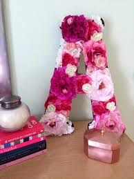 Letters For Home Decor 20 Easy Handmade Letters For Home Decor Diy To Make