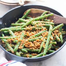 green beans with peanuts coconut and garlic recipe the flavours of