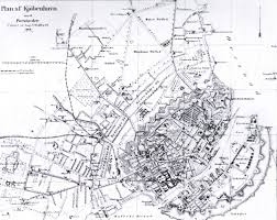 Copenhagen Map The Fortification Of Copenhagen 1880 1920 The Copenhagen History