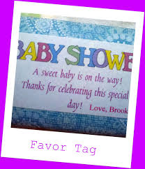copy cat crafter baby shower favors