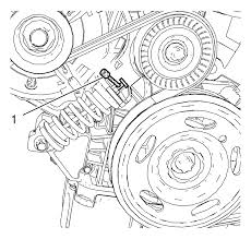 chevrolet sonic repair manual drive belt replacement pulleys