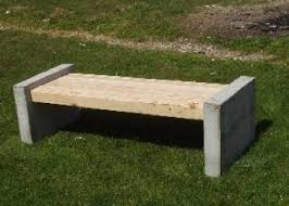 Park Bench And Table Manchester Bench Concrete Bench Park Benches Site Furnishings