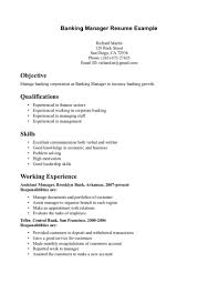 Nice Resume Template Resume Samples Banking Jobs Investment Intern Example Sample Bank