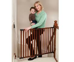 Gate For Top Of Stairs With Banister Top Of Stairs Baby Gate Picture Top Of Stairs Baby Gate Ideas