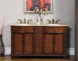60 u201d perfecta pa 240 bathroom vanity double sink cabinet brazilian
