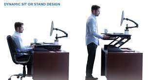 Sit To Stand Desk Converter by Mount It Standing Desk Sit Stand Desk Converter For Laptop